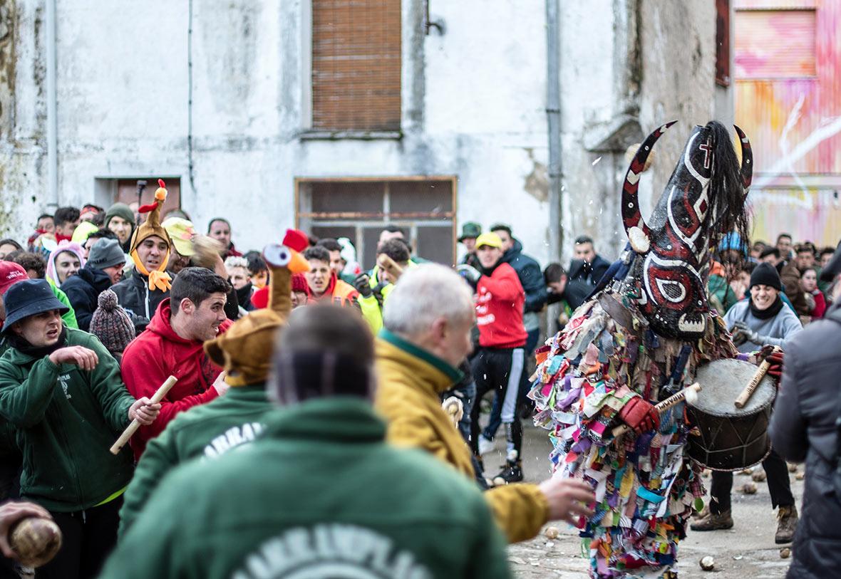Festa Jarramplas Estremadura