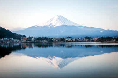 Kawaguchiko e il Monte Fuji