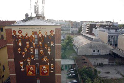 Ortica, Murales Cooperazione