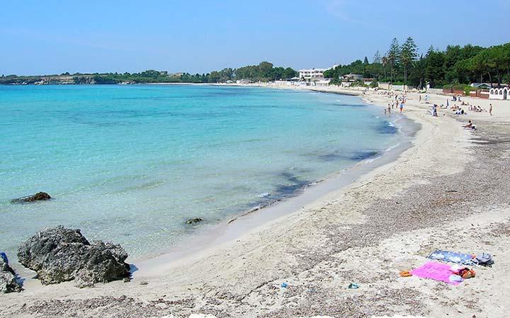 Siracusa, spiaggia Fontane Bianche