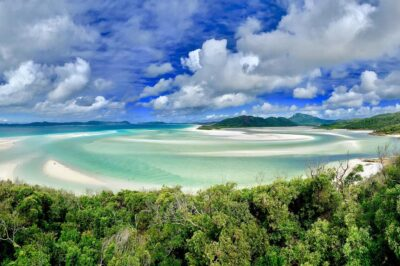 Whitehaven beach, Great Barrier Reef